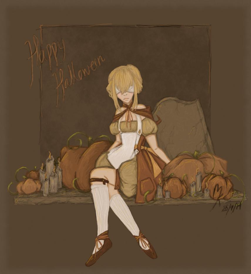Happy Halloween - Cornilia by by-MK