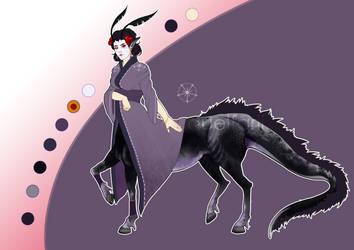 [AUCTION END] Adoption - Japaniese Dragon Centaur by Quelfarii
