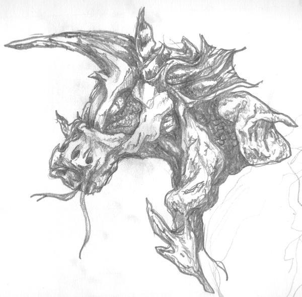 An evil Unicorn thing. by Vedren on DeviantArt