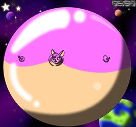 Mammoth Mutt In Space! by CrimsonStar7359
