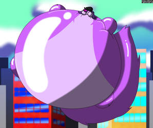 Overly Inflated Zoe Trent! by CrimsonStar7359