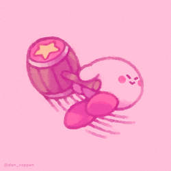 Kirby comin' in for the kill! by DanCoppen