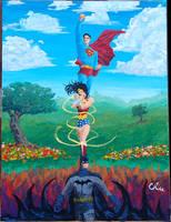 Trinity - Acrylic by BrianWilly