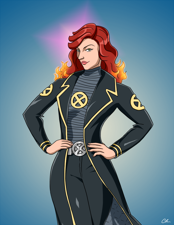 Jean Grey by BrianWilly