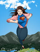 Supergirl by BrianWilly