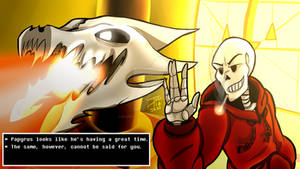 Papyrus Is Having A Great Time... (Underswap)