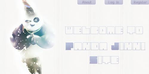 Panda Jinni Site ' Header ' 2 by B2rhom