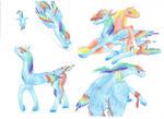 Rainbow Dash's timeline