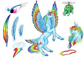 Headcanon - Rainbow Dash by Dawn22Eagle
