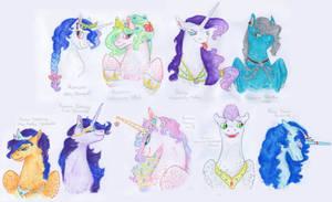Next Generation royals by Dawn22Eagle