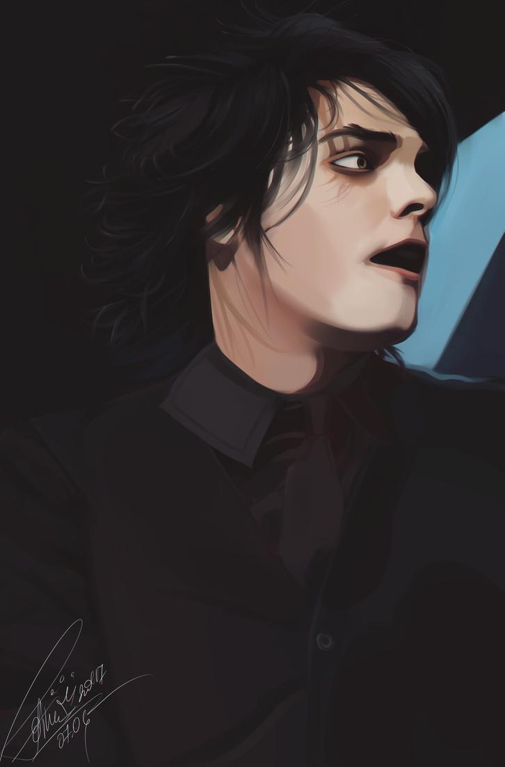 Gerard Way by Orfartina