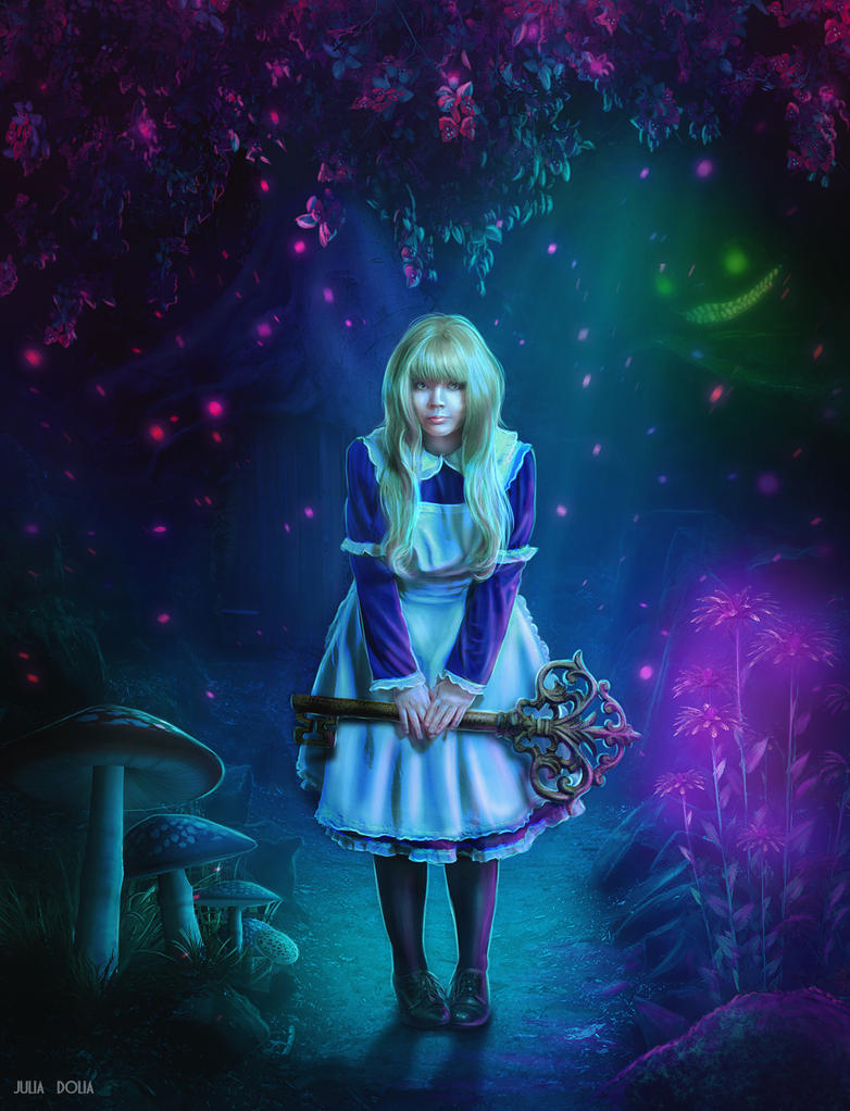 Alice in Wonderland by Julsy-ju