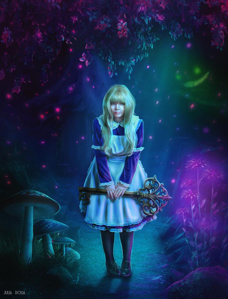 Alice in Wonderland by Julsy-ju