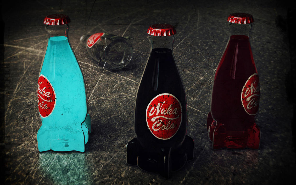 Nuka Cola by mercio