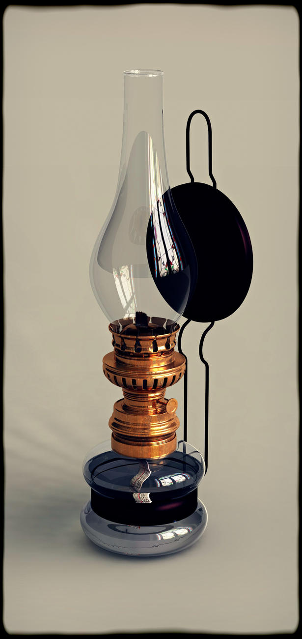 Oil Lamp by mercio