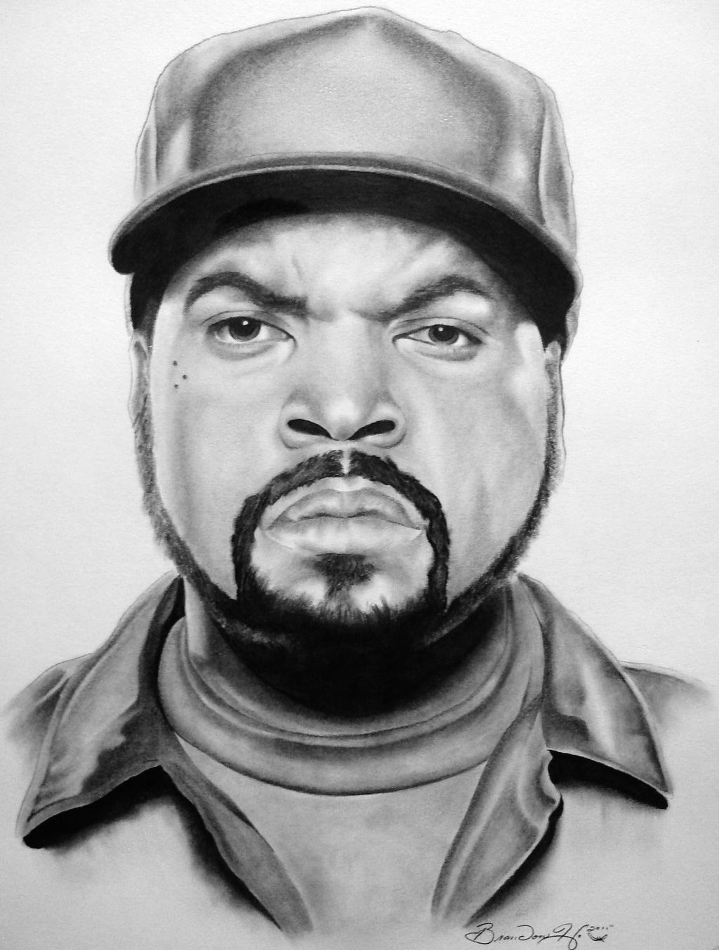 Ice Cube 1 by 7Brandon3 on DeviantArt