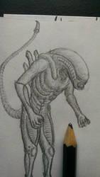 Crappy Xenomorph 1