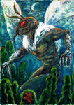 Mothman.Cryptid by manyfacesart