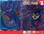 Inhuman #1: Medusa by manyfacesart