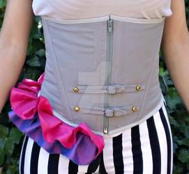 underbust corset by devilwarrior666