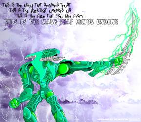 Bionicle: Toa Nidhiki by kanashigaru