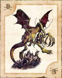 Alice cards :: Jabberwocky by Vanyanie