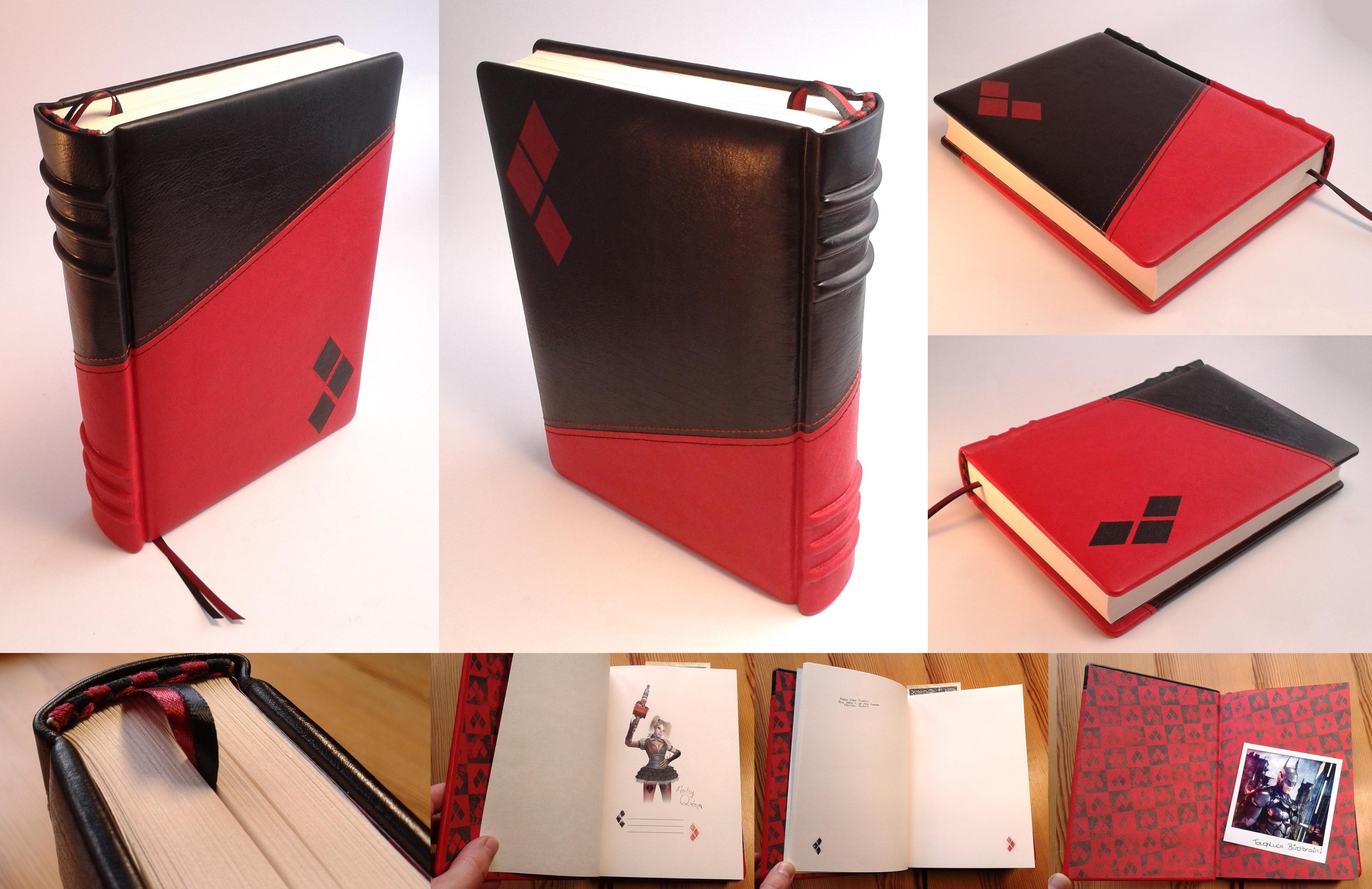 Harley quinn 39 s notebook by vanyanie on deviantart - Deadpool harley quinn notebook ...