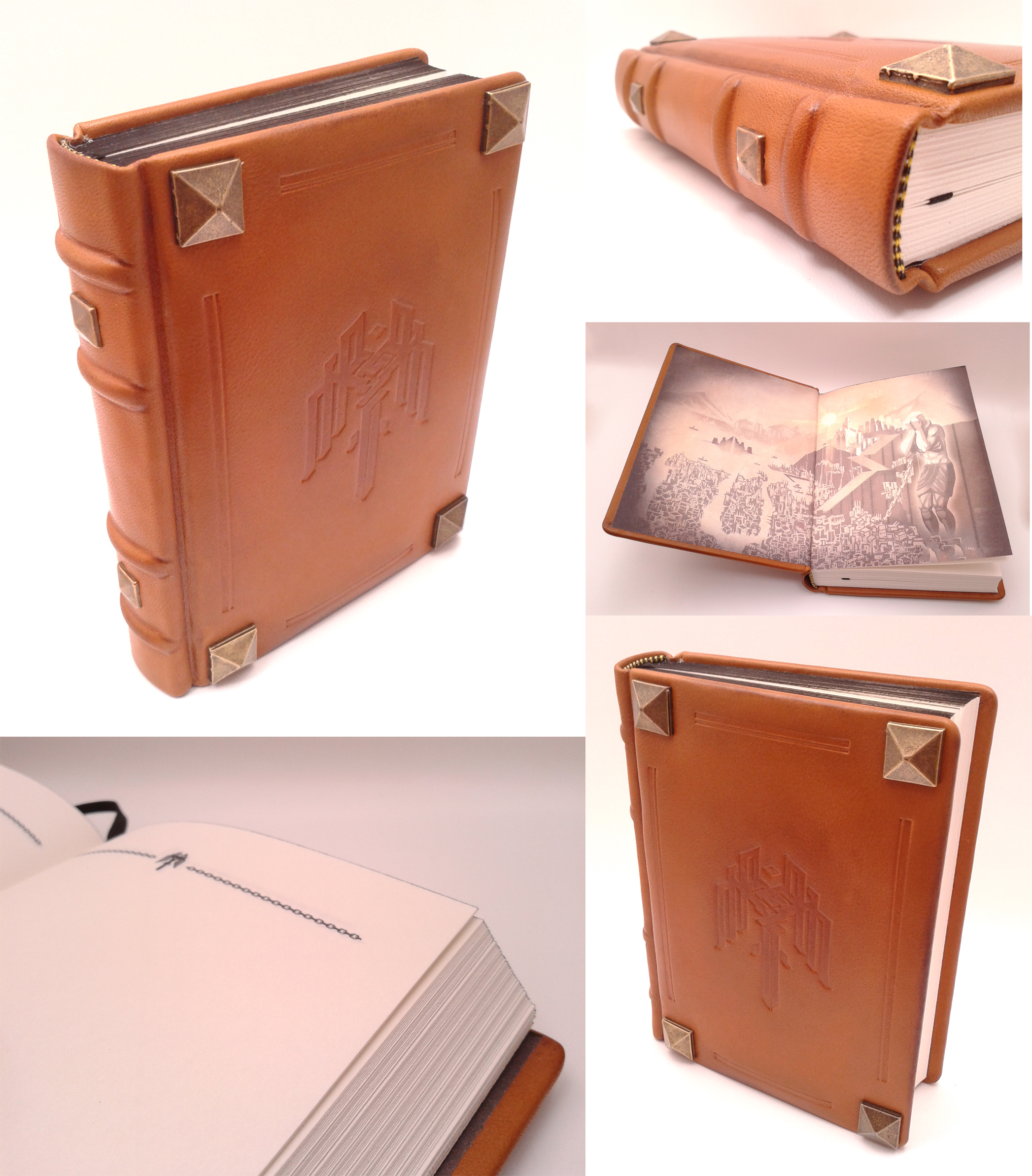 Kirkwall notebook/journal/diary LIMITED by Vanyanie