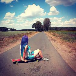 Chillin' on my Longboard