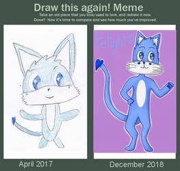 Draw This Again - Azulo by ApolloTulpa