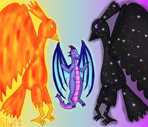 Mythical Creature forms by ApolloTulpa