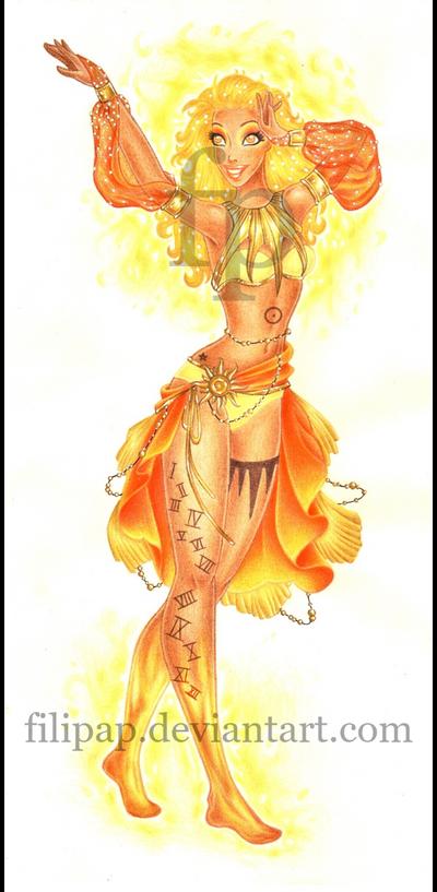 Goddess of the SUN - The Free Spirit