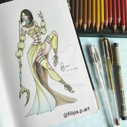 Goddess of SATURN
