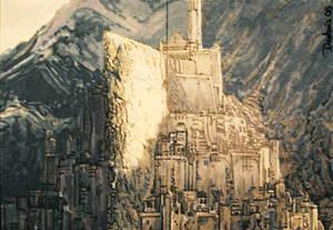 Minas Tirith close-up