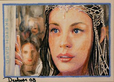 Queen Arwen by DavidDeb