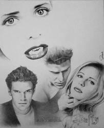 Buffy-Angel by DavidDeb
