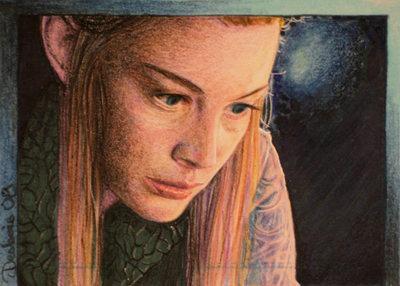Elfic Reflection by DavidDeb
