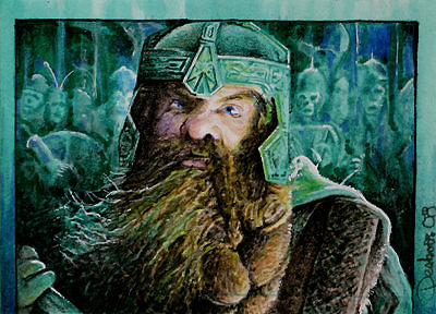 Gimli -Paths of the Dead by DavidDeb
