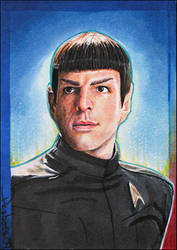 Spock by DavidDeb