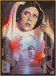 Leia's Secret Plans by DavidDeb