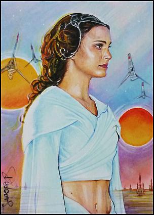 Padme -Tatooine midriff by DavidDeb