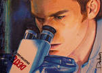 Dexter at Microscope