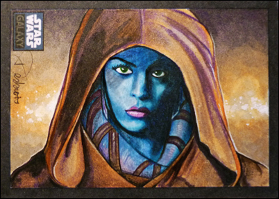 Aayla Secura by DavidDeb