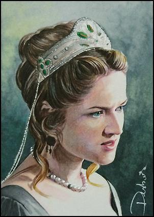 Lady Rochford by DavidDeb