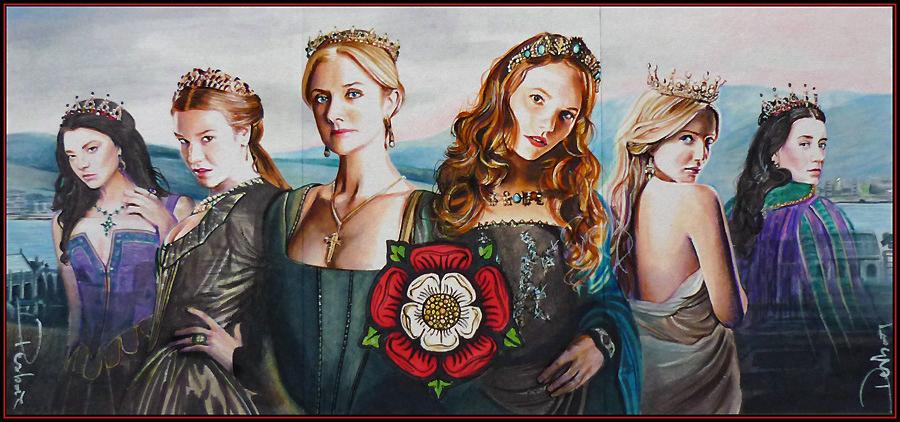 The Tudor Roses by DavidDeb