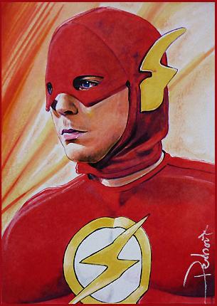 Flash-Sheldon by DavidDeb