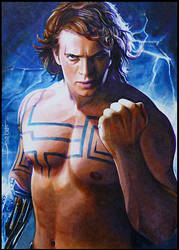 Anakin -Nelvaan's Quest by DavidDeb