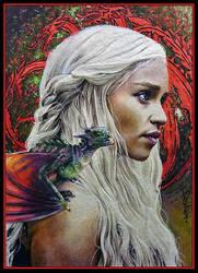 Daenerys by DavidDeb