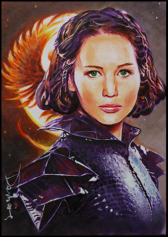 Katniss Everdeen by DavidDeb