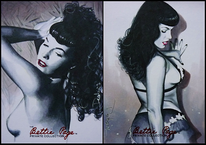 Glamor by Bettie Page by DavidDeb